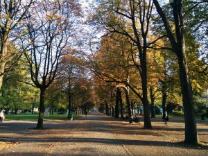 Le parc des Bastions