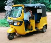 Le tuktuk d'Amara