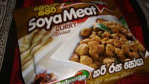 Boules de soya sèches