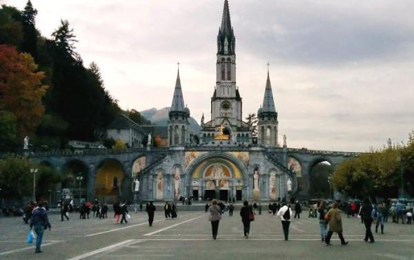 La cathédrale de Lourdes